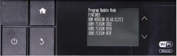 Reset Epson P607