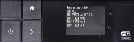 Reset Epson PX3V