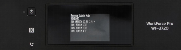 Reset Epson WF-2860