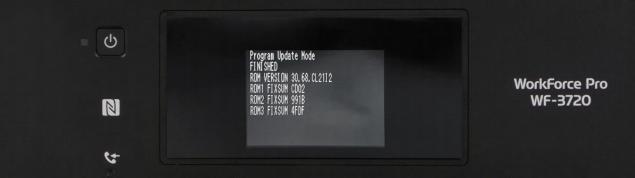Reset Epson WF-3720